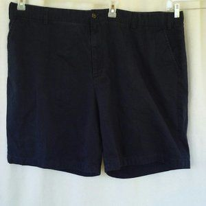 Nautica mens shorts 50x9 Black 100% cotton